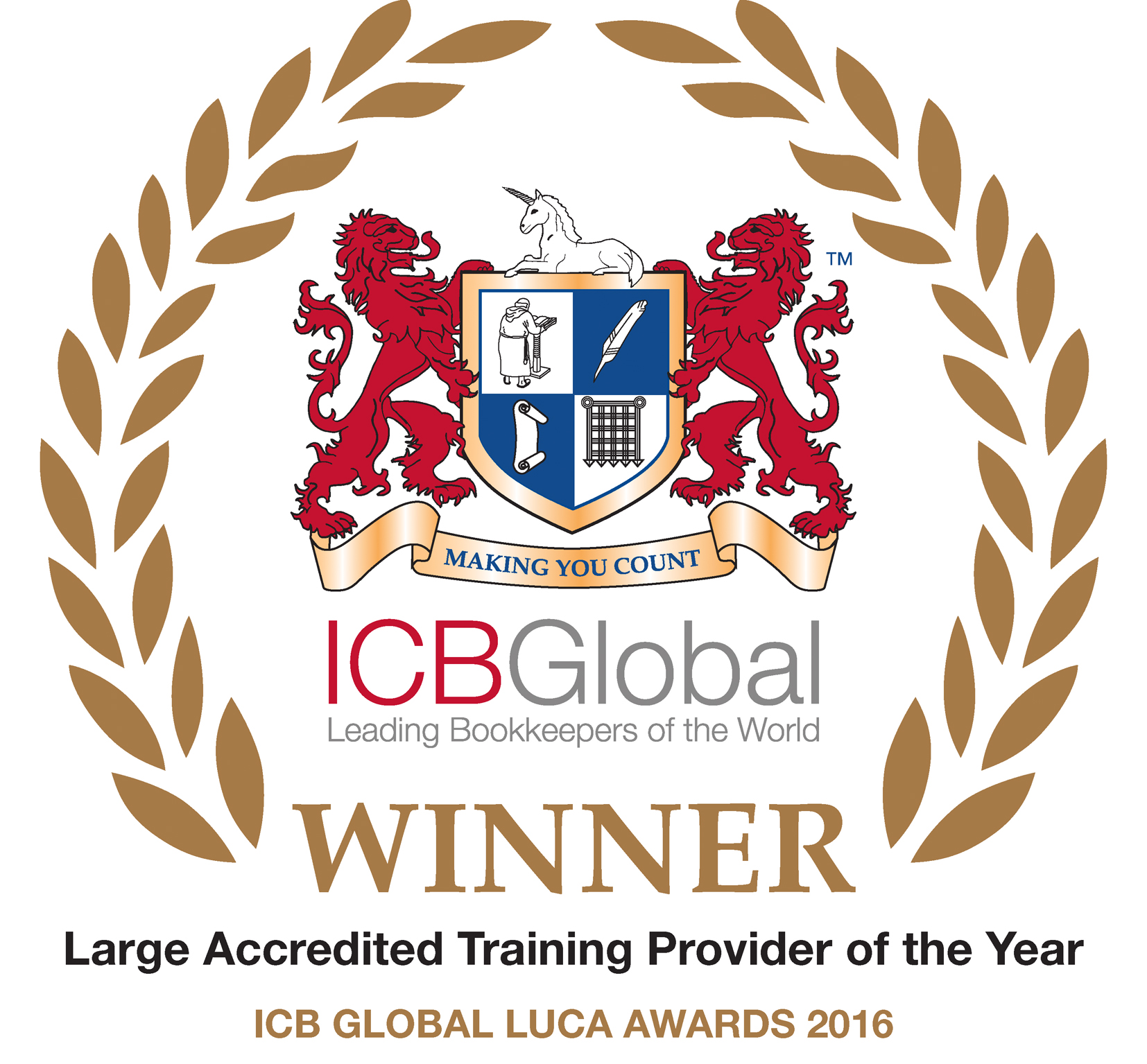 Large Training Provider of the Year 2016