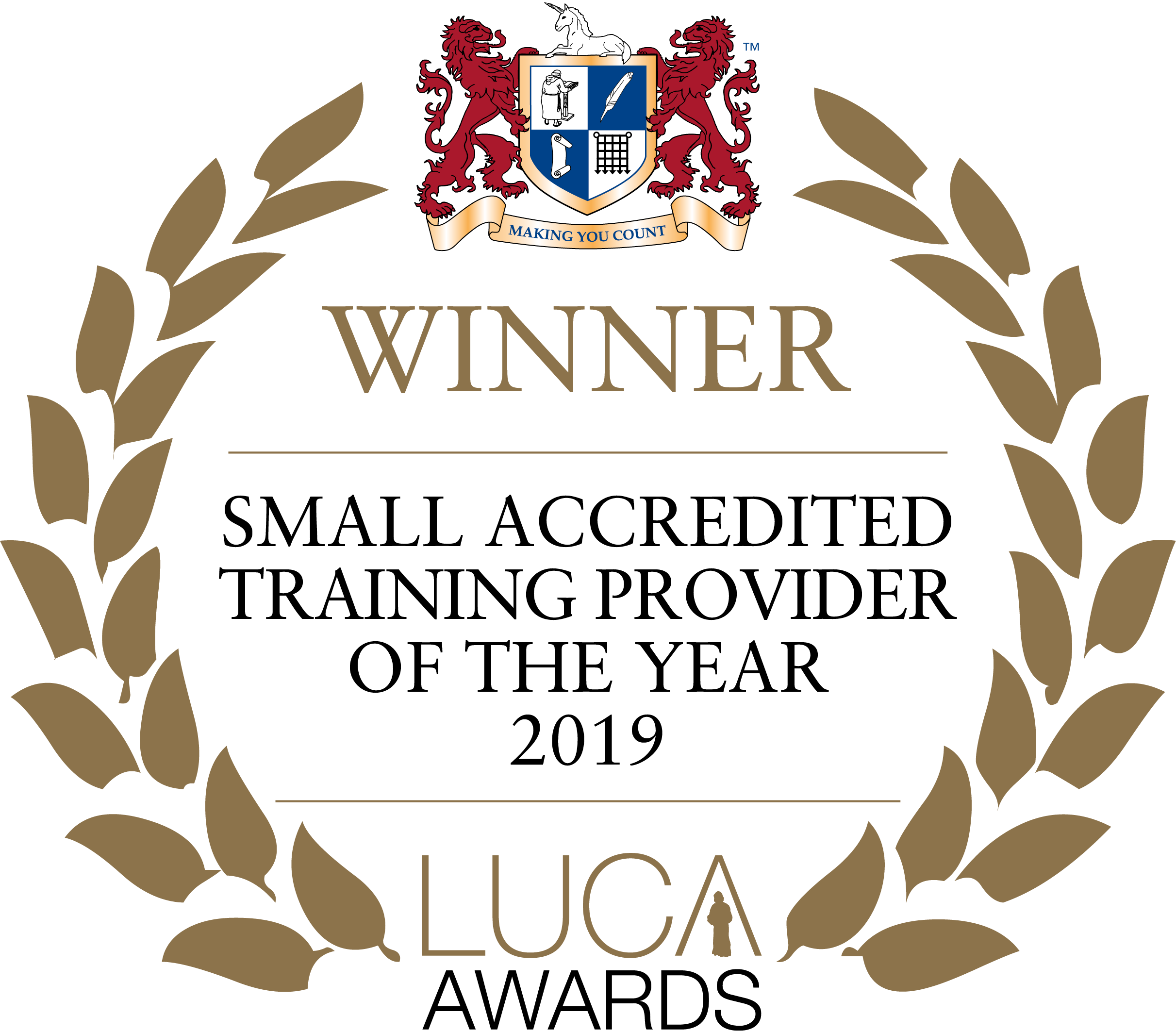Small Training Provider 2019 winner