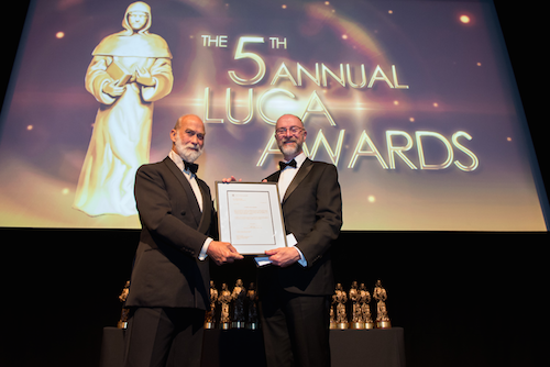 Prince Michael of Kent at the ICB LUCA Awards